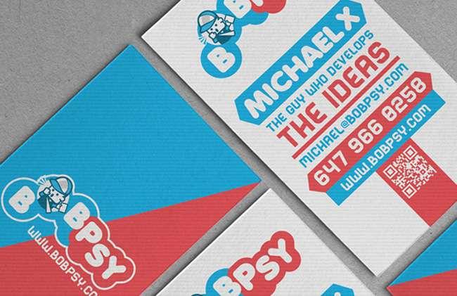 Bobpsy Logo & Business card design