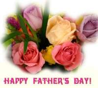Happy-Fathers-Day-Flowers-Greeting-Card