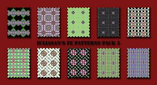 Iuliasan's FE patterns pack 5