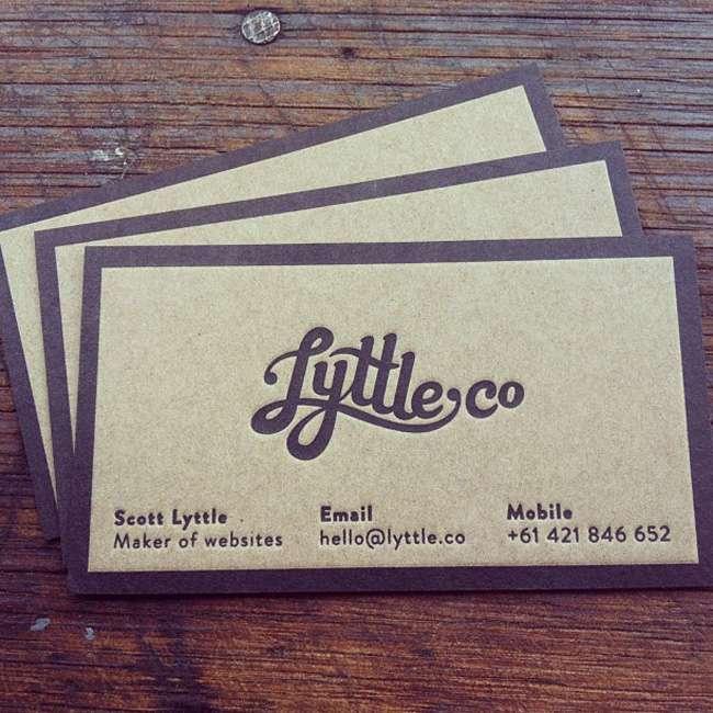 LyttleCo Business Card