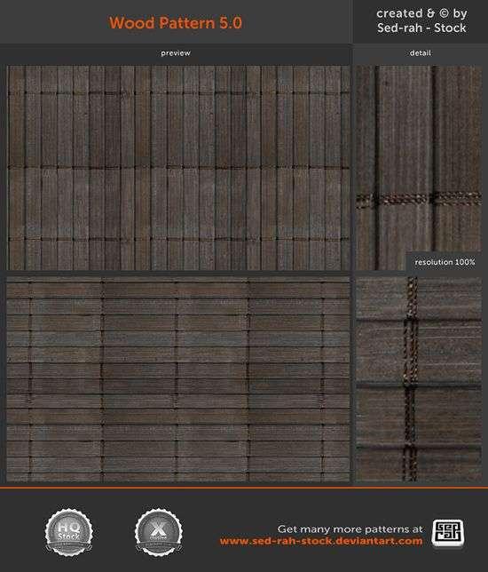 dark Wood Pattern