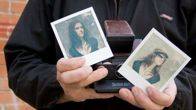 Digitize her old photos.