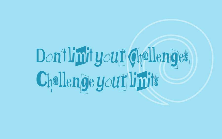 18. Challenge Your Limits