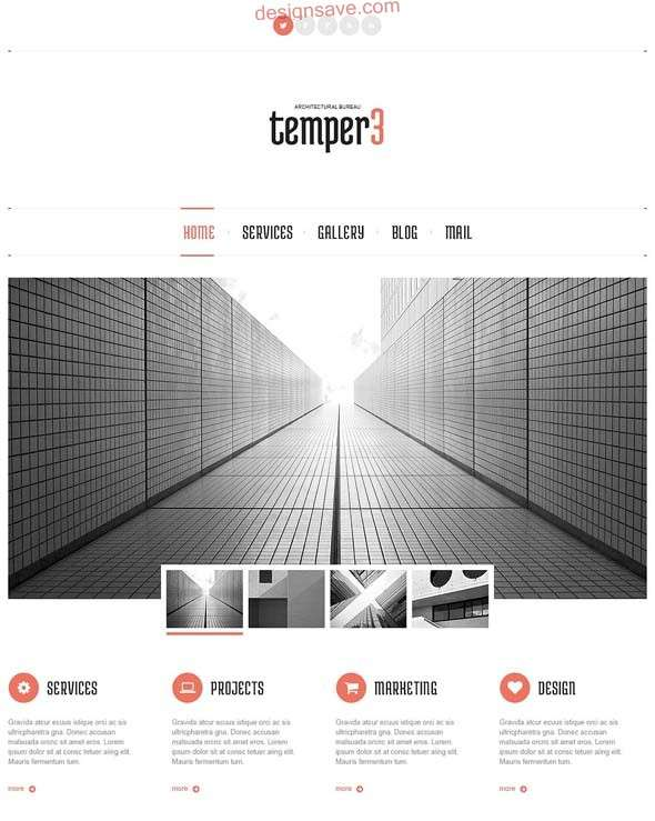 Architecture Designs WordPress Theme