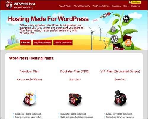 Best hosting options for wordpress