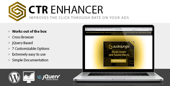 CTR Enhancer WP Tool for advertising publishers image