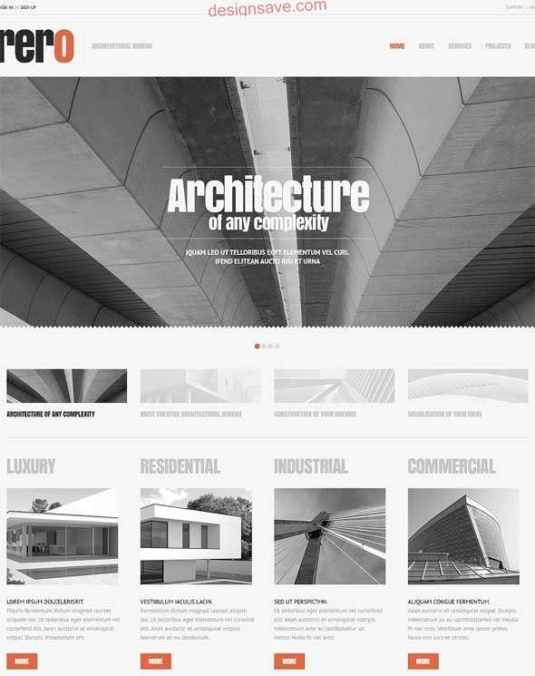 Cherry-Architecture-WordPress-Theme