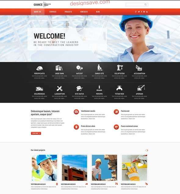 Effective-Construction-WordPress-Theme