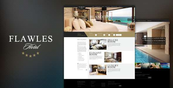 FlawlesHotel - Online Hotel Booking Template