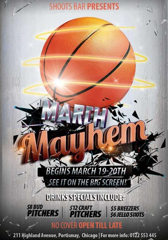 Free-Basketball-Flyer-Template