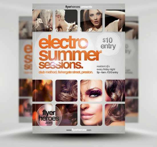 Free-Electro-Summer-Flyer-Template