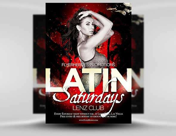 Free-Latin-Night-Flyer-Template