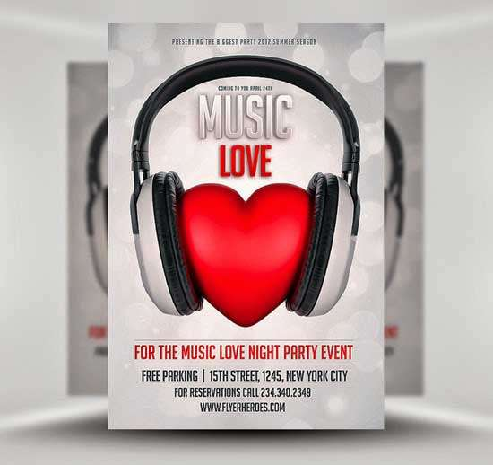 Free-Music-Lover-Club-Flyer-Template