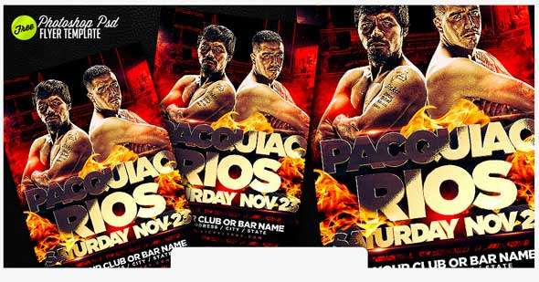 Free-Paquiao-Rios-Flyer-Template