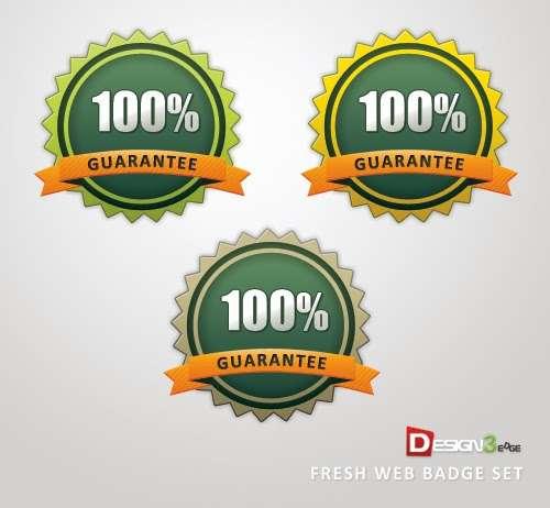 Fresh Web Badge Set