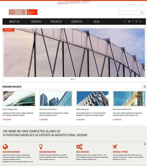 Light-Architecture-WordPress-Theme