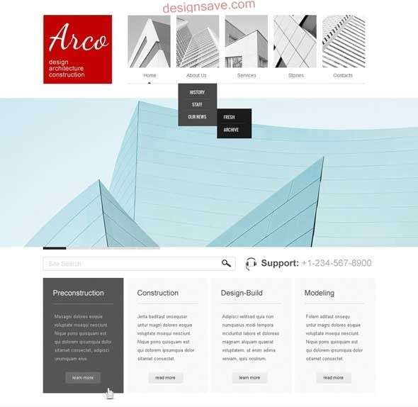 Modern-Architecture-WordPress-Theme