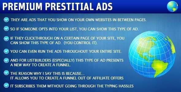 Premium Prestitial Ads image