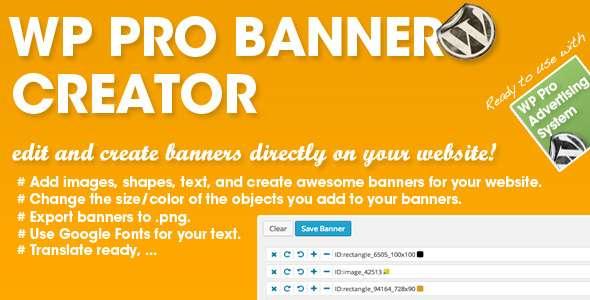 WP PRO Banner Creator image