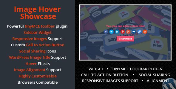 Wordpress Image Hover Showcase image