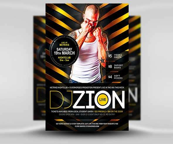 Zion-Free-DJ-Flyer-Template