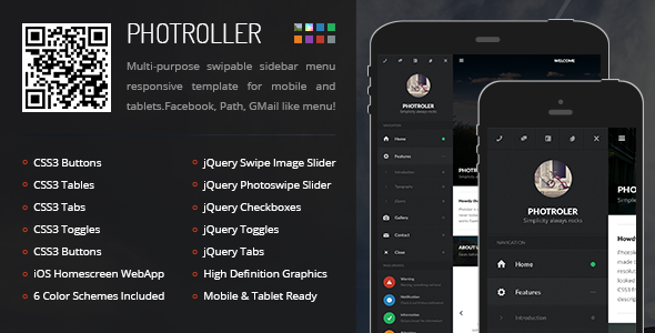 photroller-mobile-tablet-responsive-template