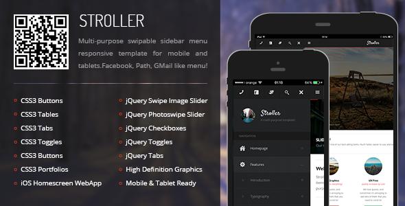 stroller-mobile-tablet-responsive-template