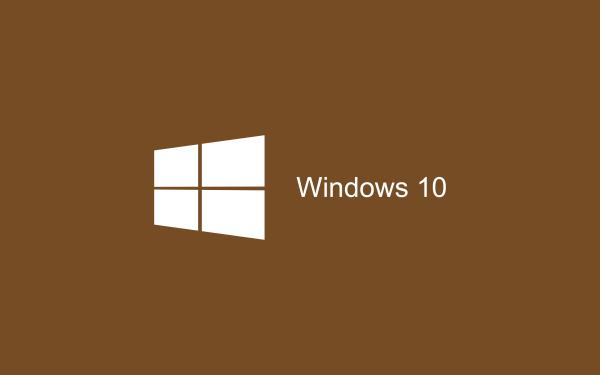 Brown Wallpaper Windows 10 HD 2880x1800 600x375 image