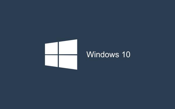 Dark blue Wallpaper Windows 10 HD 2880x1800 600x375 image