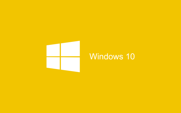Yellow flat Wallpaper Windows 10 HD 2880x1800 600x375 image