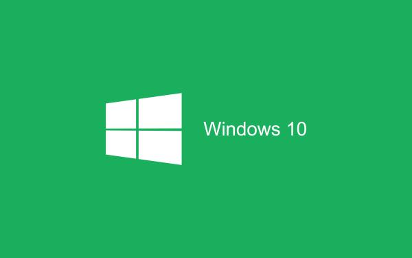 green Wallpaper Windows 10 HD 2880x1800 600x375 image