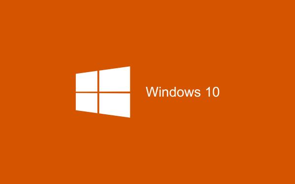 orange Wallpaper Windows 10 HD 2880x1800 600x375 image