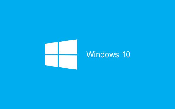 Blue Wallpaper Windows 10 HD 2880x1800 600x375 image