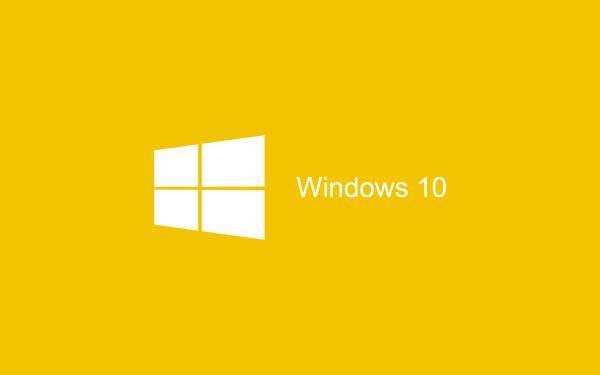 Yellow Wallpaper Windows 10 HD 2880x1800 600x375 image