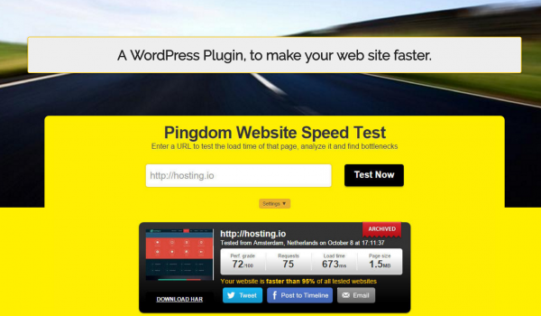 A WordPress Plugin, to make your web site faster.